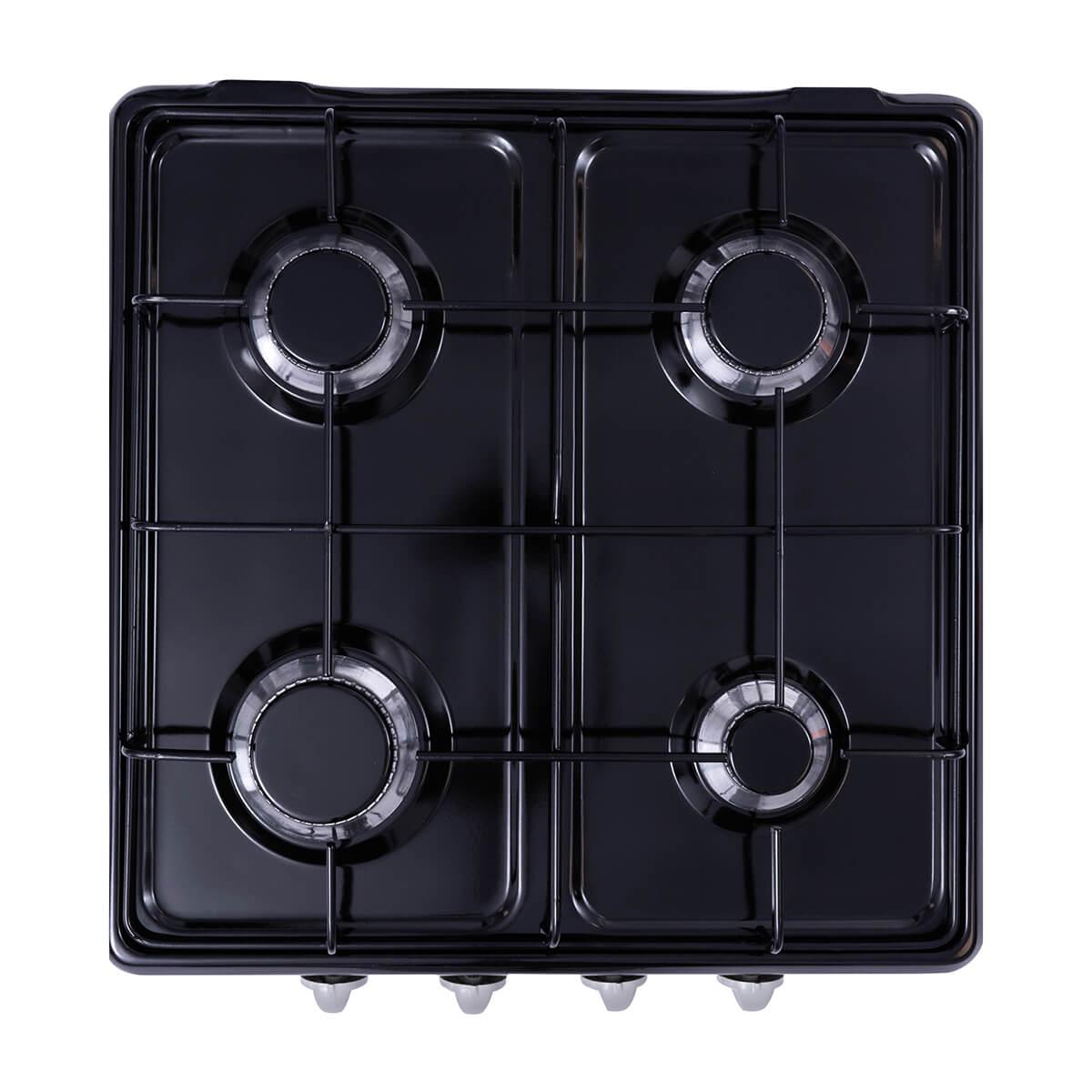 Dörtlü Klasik Ocak Siyah